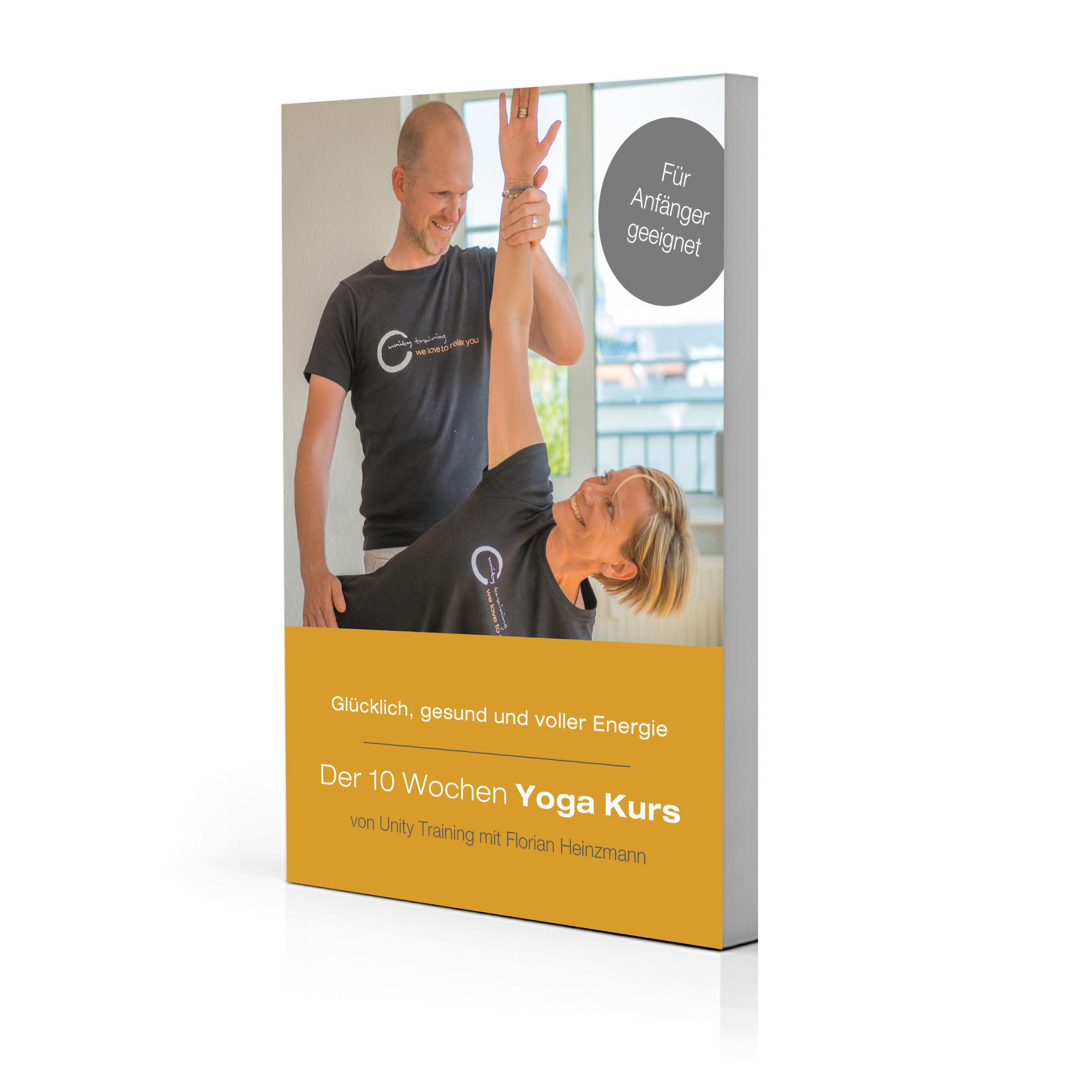 Online Yoga Kurs - Dein Yoga für zuhause - zur Stärkung des Rückens und gegen Stress